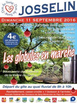 Les Globules en Marche @ Josselin | Bretagne | France