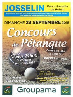 Concours de pétanque @ Cours Alain de Rohan