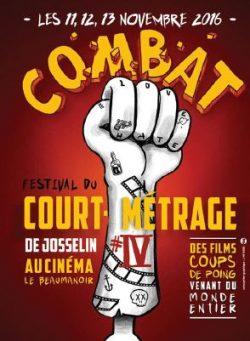 COMBAT - festival du court-métrage - du 11 au 13 Novembre @ Cinéma le Beaumanoir