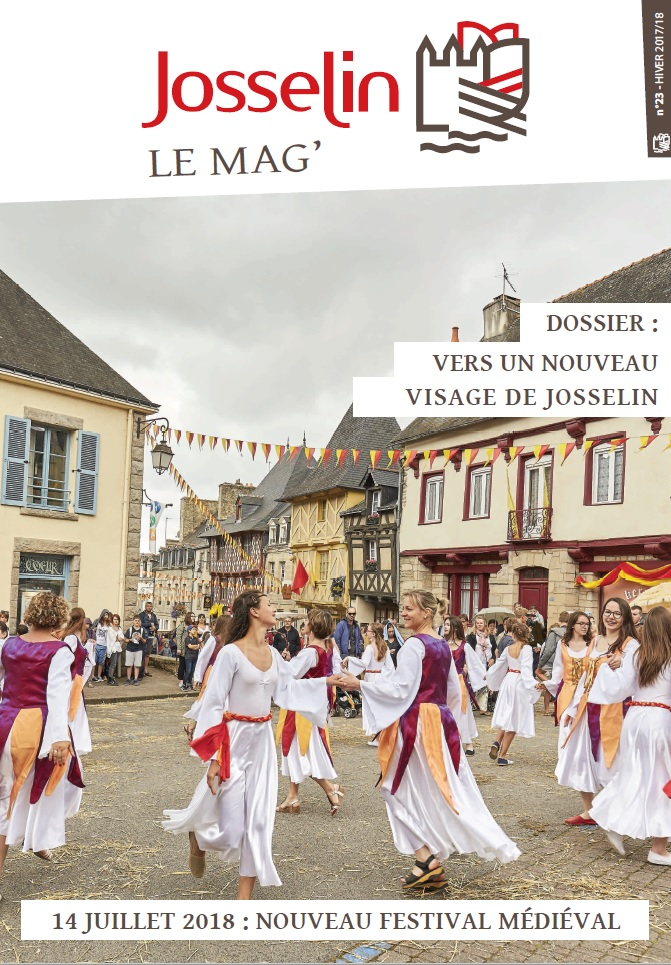 couverture Josselin Mag 23