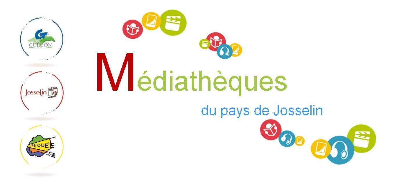 logo médiathèque pays de Josselin