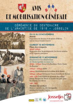Cérémonie du centenaire de l'armistice de 1918