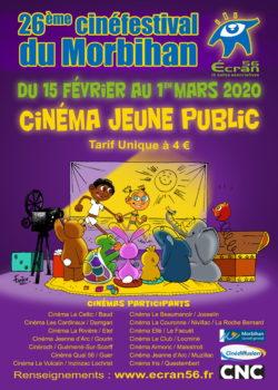 Cinéfestival Ecran 56 @ Cinéma Le Beaumanoir