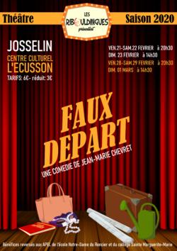 """Théâtre avec """"Les Ribouldingues"""" @ Centre Culturel  L'Ecusson"""