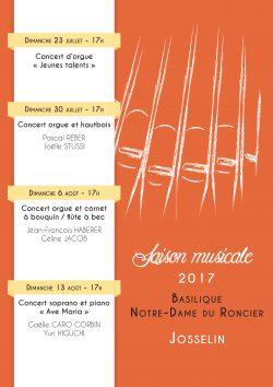 Concerts à la Basilique @ Basilique Notre Dame du Roncier