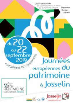 Journées Européennes du Patrimoine 2019 @ Centre-ville