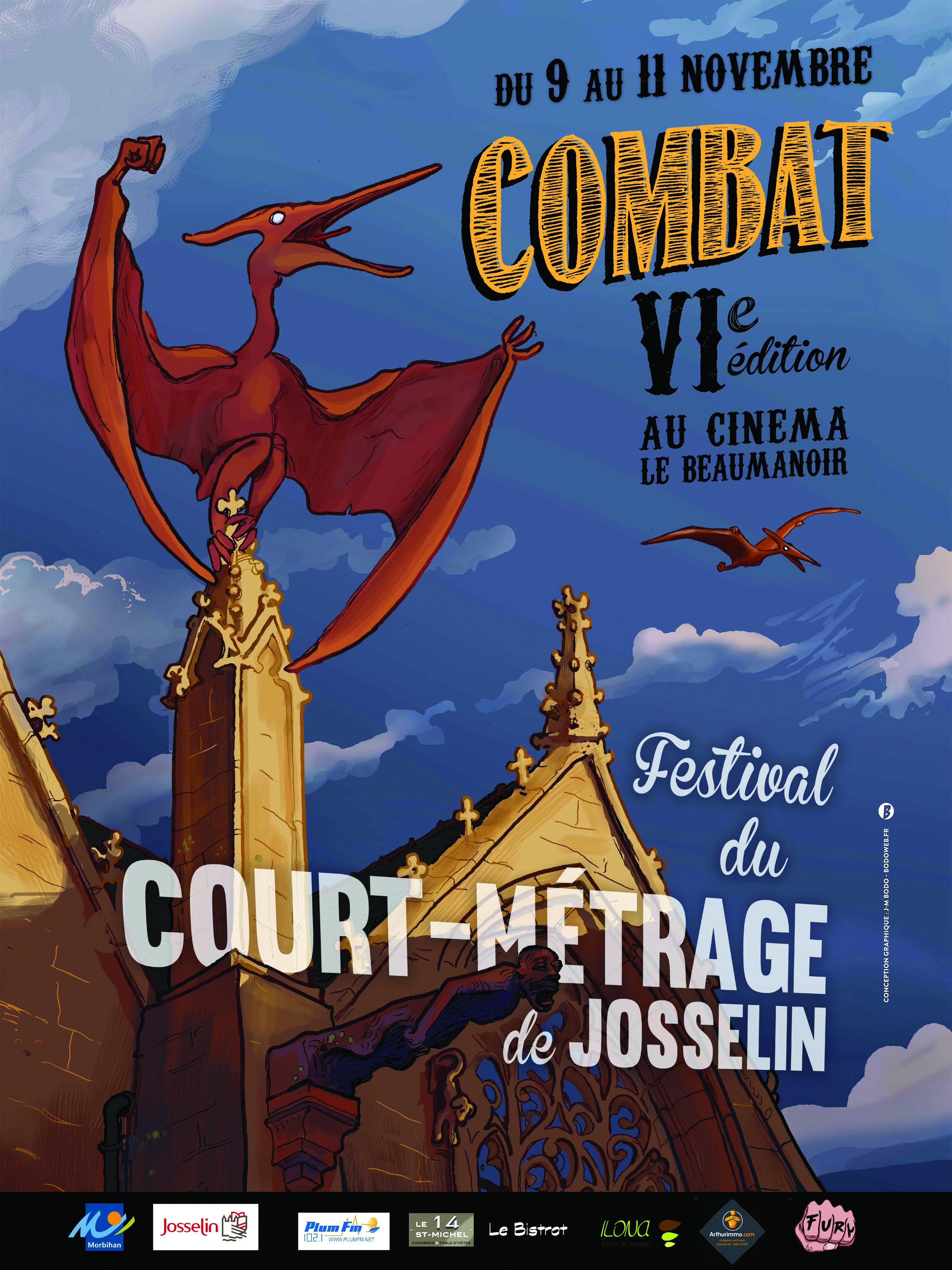 Affiche festival combat 2018-2