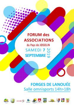 Forum 2019 des associations du Pays de Josselin @ Salle Omnisport