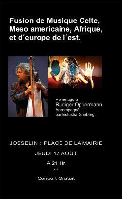 Concert musiques du monde @ Centre culturel l'Écusson