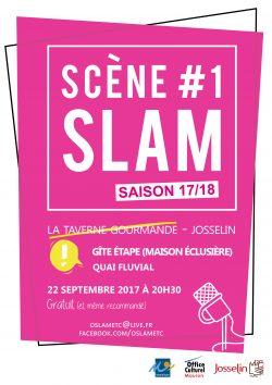 Scène SLAM #1 - Saison 17/18 @ Restaurant La Taverne Gourmande