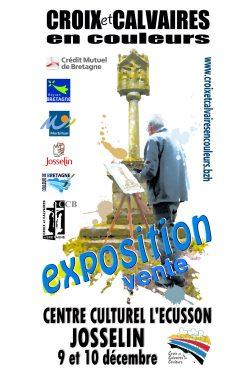 Exposition Croix et calvaires en couleurs @ Centre culturel l'Écusson