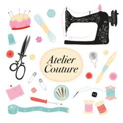 Atelier couture @ Médiathèque