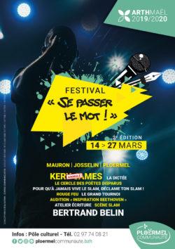 """ANNULÉ  - Festival slam """"Se passer le mot"""" @ Sur le territoire de Ploërmel Communauté"""