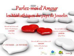"""""""Parlez-moi d'amour"""" @ Médiathèque de Josselin"""