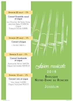 Concert bombarde et orgue @ Basilique Notre-Dame du Roncier