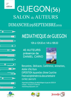 2e salon des auteurs par le réseau des médiathèques @ Médiathèque
