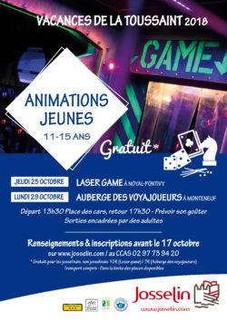 Animations jeunes 11-15 ans