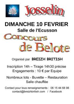 Concours de belote @ Centre culturel