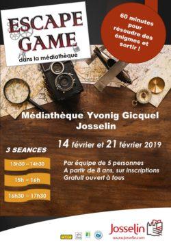 Escape game à la médiathèque @ Médiathèque