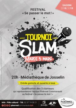 """Tournoi de qualification - Festival """"Se passer le mot"""" @ Médiathèque de Josselin"""