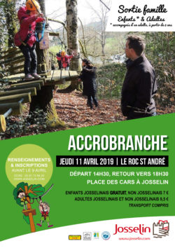 Sortie famille : accrobranche