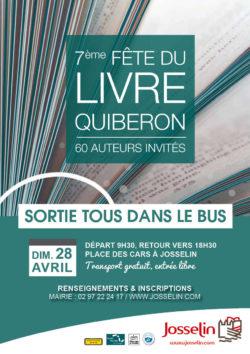 """Sortie """"Tous dans le bus"""" : salon du livre Quiberon"""
