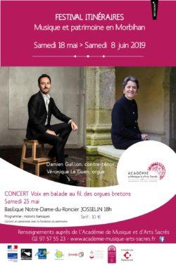Festival Itinéraires à Josselin @ Basilique Notre-Dame du Roncier