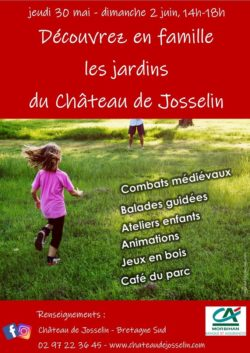 Week-end en famille au Château @ Château de Josselin et musée de poupées et jouets