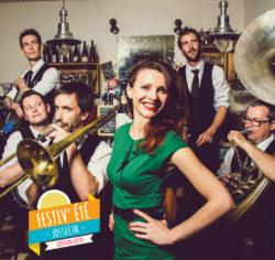 Festiv'été - Concert The Sassy Swingers @ Place de la mairie