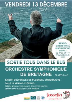 Tous dans l'bus : Orchestre symphonique de Bretagne @ Place des cars