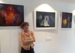Exposition de peintures de Dominique DAVID @ Médiathèque Yvonig Gicquel