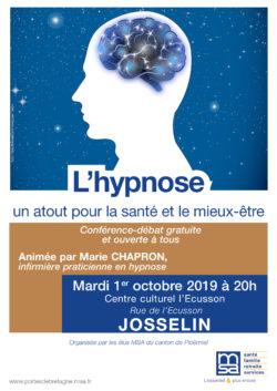Conférence L'hypnose, un atout pour la santé et le mieux-être @ Centre culturel l'Ecusson