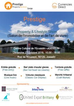 Salon Prestige - Immobilier et art de vivre @ Centre culturel l'Ecusson