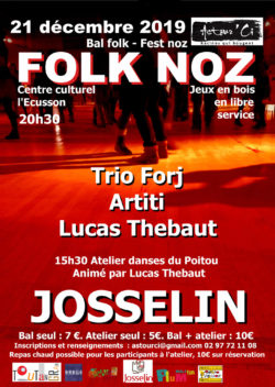 Bal Folk @ Centre culturel l'Ecusson