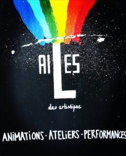 Duo AILES en résidence d'artistes @ Maison des Arts
