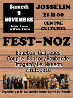 Fest-noz @ Centre culturel l'Ecusson