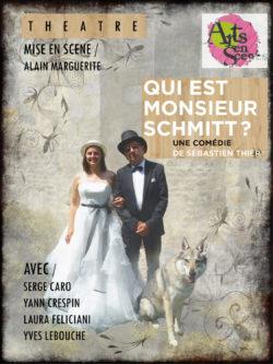 Qui est Monsieur SCHMITT ? @ Théâtre de la Rochette - Maison des Associations