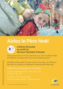 Aidez le Père Noël @ La Poste