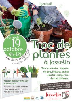 Troc de plantes @ Bois d'Amour - Parking de l'Aiguillon