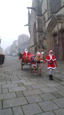 L'Arrivée du Père Noël @ Place de la Mairie