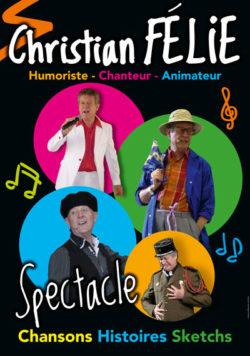 Spectacle musical de Christian Félie @ Centre culturel l'Ecusson