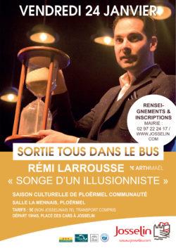 Tous dans l'bus : Rémi Larrousse @ La Mennais - Ploërmel