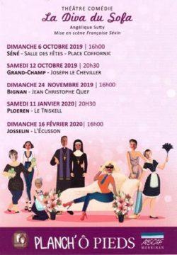 La Diva du sofa @ Centre culturel l'Ecusson