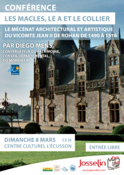 ANNULÉ - Conférence de Diego MENS @ Centre culturel l'Ecusson
