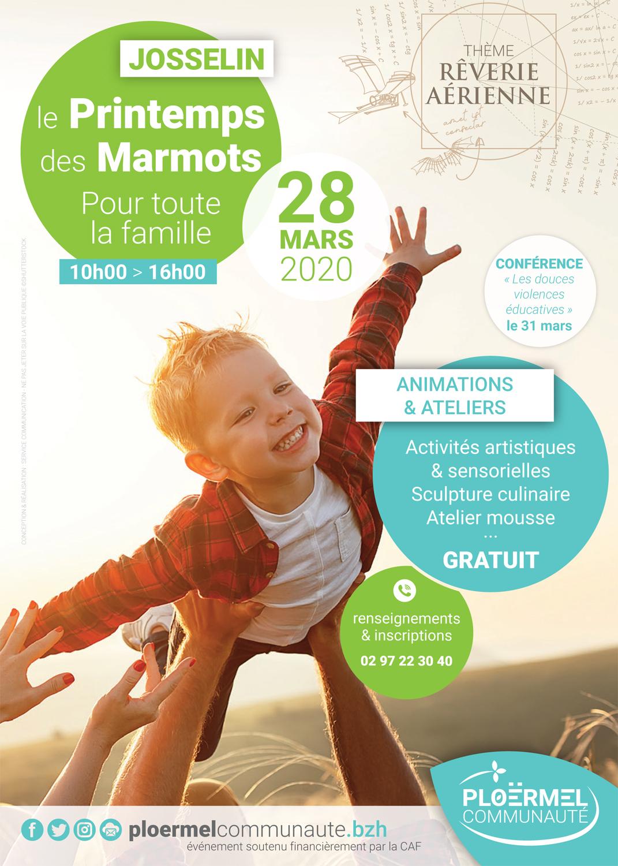 A5_Flyer - Printemps des Marmots 2020 - Josselin