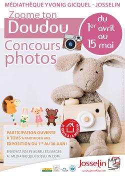 """Concours photo """"Zoome ton doudou"""""""