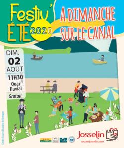 Festiv'été - A dimanche au Canal @ Quai Fluvial