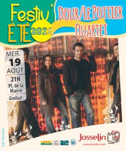 Festiv'été - Dour / Le Pottier Quartet @ Place de la Mairie