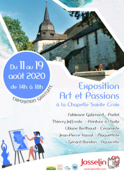 """Exposition """"Art et Passions"""" @ Chapelle Sainte Croix"""