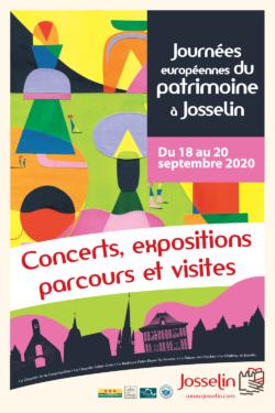 Journée Européennes du Patrimoine à Josselin 2020